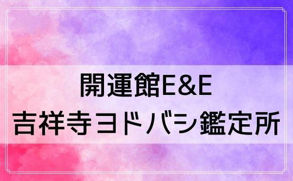 吉祥寺の占いはヨドバシカメラ6階「開運館E&E 吉祥寺ヨドバシ鑑定所」が当たる!