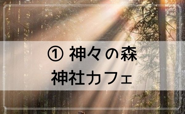 高田馬場は占いカフェが人気!【① 神々の森神社カフェ】