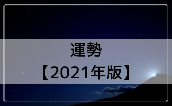 双子座の運勢【2021年版】